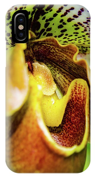 Orchid Faces IPhone Case