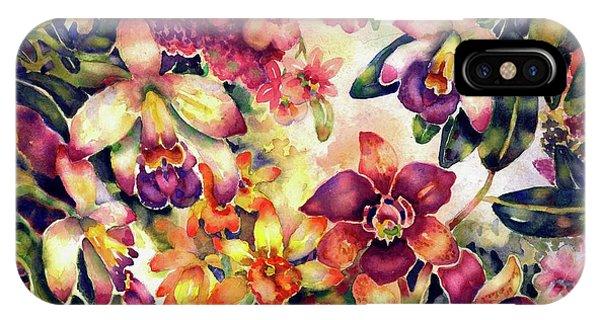 Orchid Garden II IPhone Case