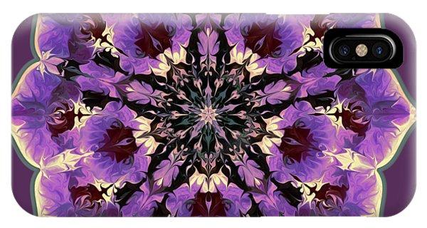 Orchid Lotus IPhone Case