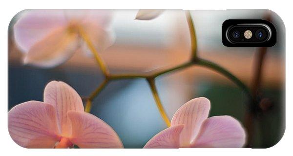Orchid Menage IPhone Case
