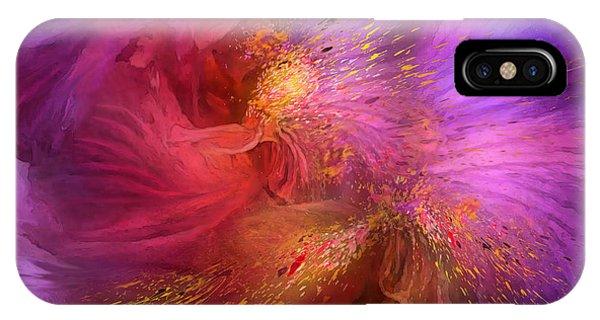Violet iPhone Case - Orchid Moods by Carol Cavalaris
