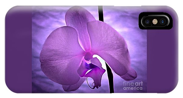 Orchid Of Serenity IPhone Case