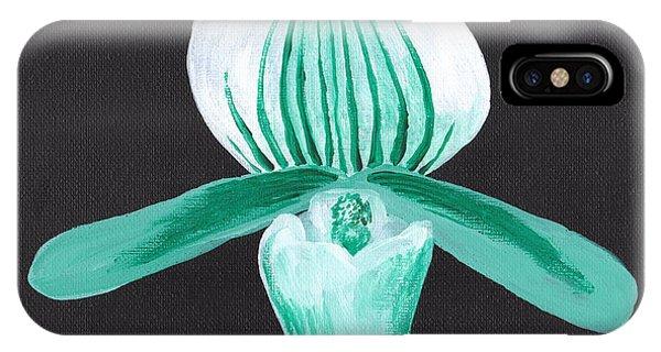 Orchid-paphiopedilum Bob Nagel IPhone Case