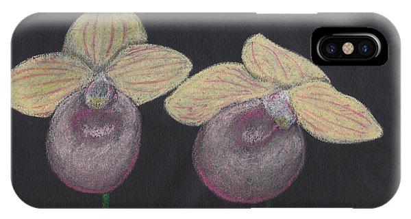 Orchid-paphiopedilum Fanaticum IPhone Case