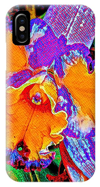 Orchid Psychedelic IPhone Case