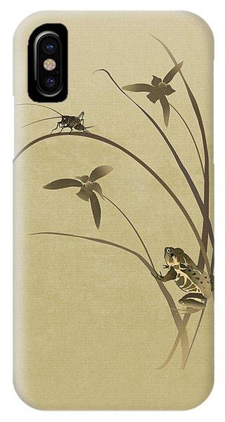 Orchid Sonata IPhone Case