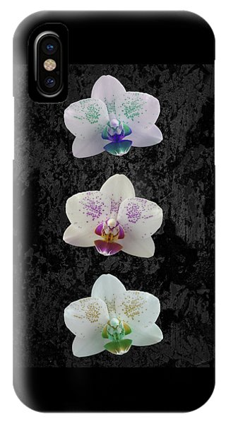 Orchid Trio IPhone Case