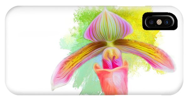 Orchid Whimsy IPhone Case