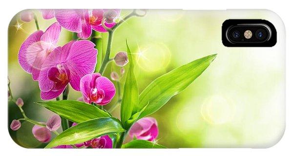 Orchidaceae IPhone Case