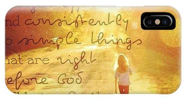 Love iPhone Case - ordinary People Who Faithfully by Traci Beeson