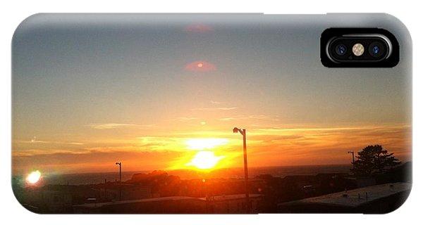 Oregon Blazing Sunset IPhone Case