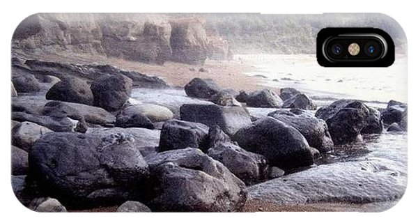 Oregon Coast Rocks IPhone Case