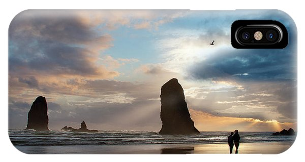 Oregon Coastine IPhone Case