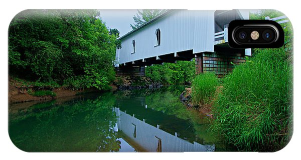 IPhone Case featuring the photograph Oregon Covered Bridge by Sean Sarsfield