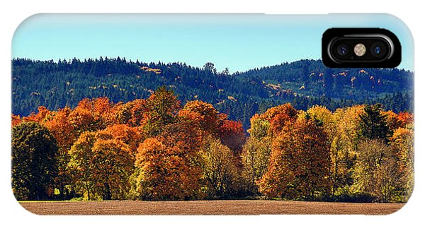 Oregon Fall IPhone Case
