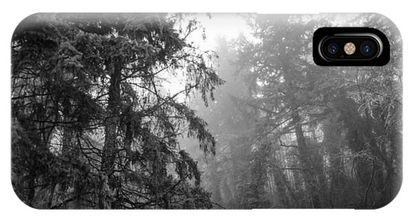 Oregon Fog IPhone Case