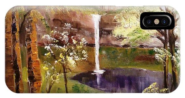 Oregon Waterfall IPhone Case