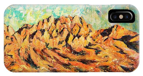 Organ Mountains IIi IPhone Case