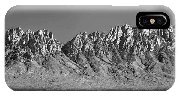 214878-organ Mountains Panorama     IPhone Case