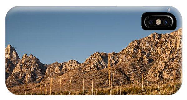 Organ Mountans At Sunrise-3 IPhone Case
