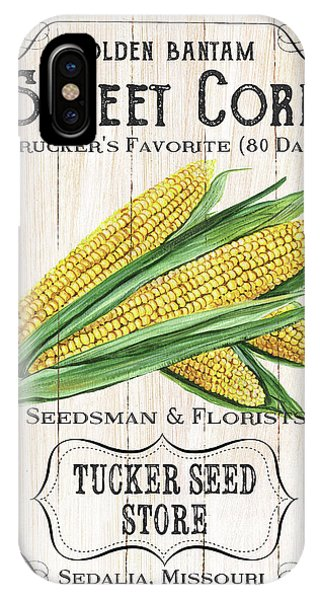 Agriculture iPhone Case - Organic Seed Packet 4 by Debbie DeWitt