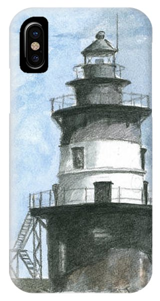 Orient Point Lighthouse IPhone Case