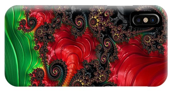 Oriental Abstract IPhone Case