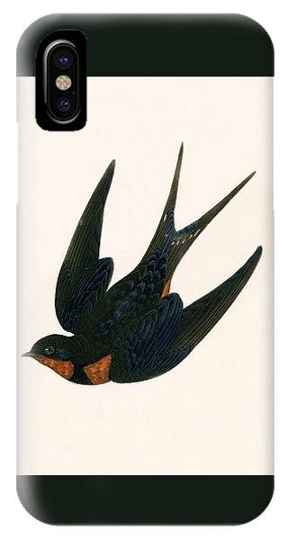 Oriental Chimney Swallow IPhone Case