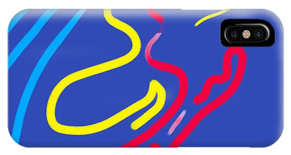 IPhone Case featuring the painting Origins by Robert Henne
