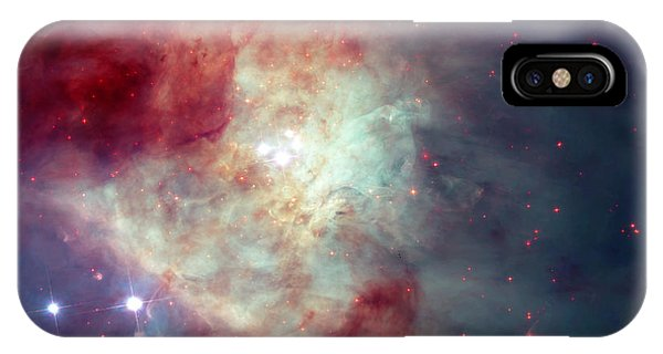 Infrared Radiation iPhone Case - Orion Nebula 2 by Mark Kiver