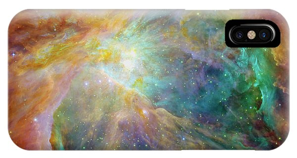 Infrared Radiation iPhone Case - Orion Nebula by Mark Kiver
