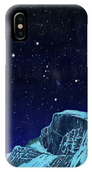 Orion Over Yosemite IPhone Case