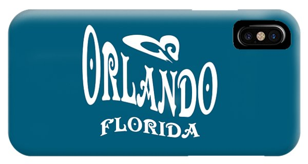 Sports Clothing iPhone Case - Orlando Florida Design by Peter Potter