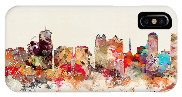 Florida iPhone Case - Orlando Florida Skyline by Bri Buckley