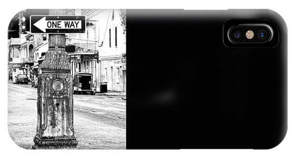 Orleans Street One Way IPhone Case