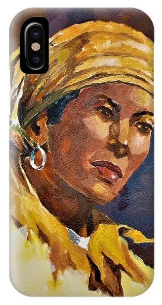 Orleans Woman II IPhone Case