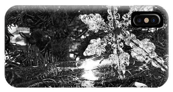 Ornamental Snowflake IPhone Case