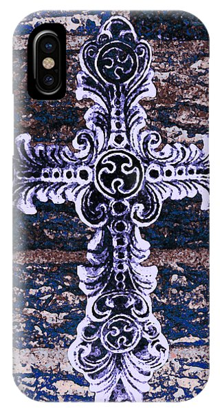 Ornate Cross 2 IPhone Case