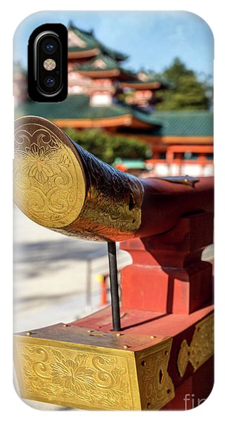 Ornate Details O Heian Jingu Shrine In Kyoto IPhone Case