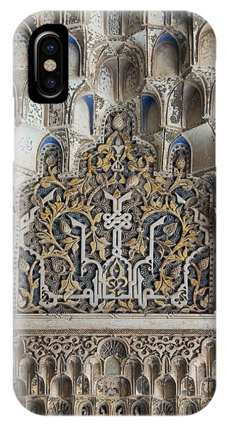 Ornate Plasterwork IPhone Case