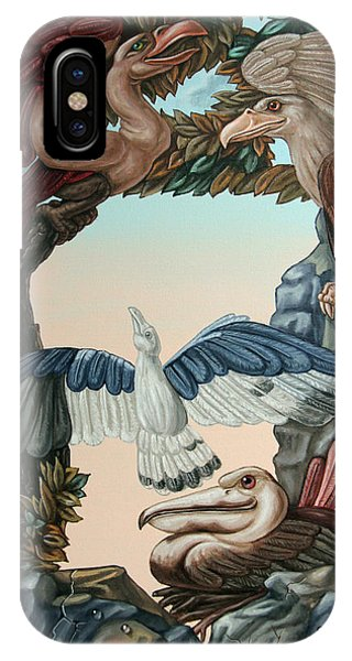 Ornithological Symphony By Ludwig Van Beethove IPhone Case
