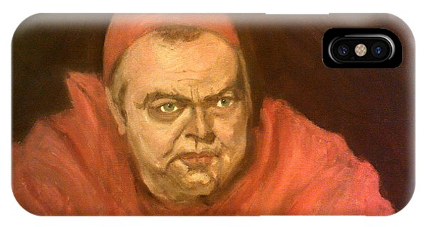 Orson Welles As Cardinal Wolsey IPhone Case