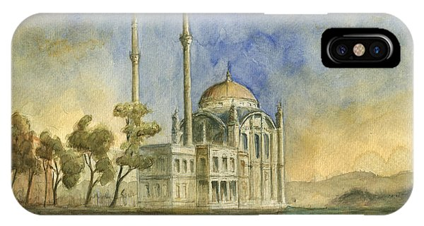 Turkey iPhone Case - Ortakoy Mosque Istanbul by Juan Bosco