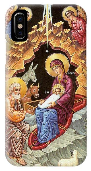 Orthodox Nativity Scene IPhone Case