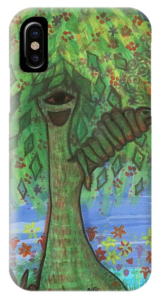 Osain Tree IPhone Case