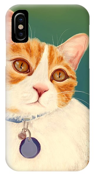 Oscar- Orange Tabby  IPhone Case