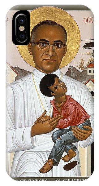 St. Oscar Romero Of El Salvado - Rlosr IPhone Case