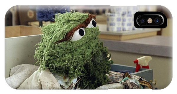 Oscar The Grouch IPhone Case
