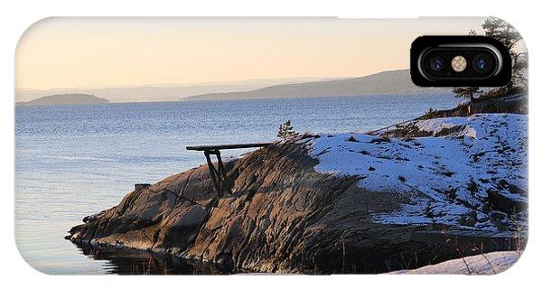 Oslo Fjords, Norway  IPhone Case