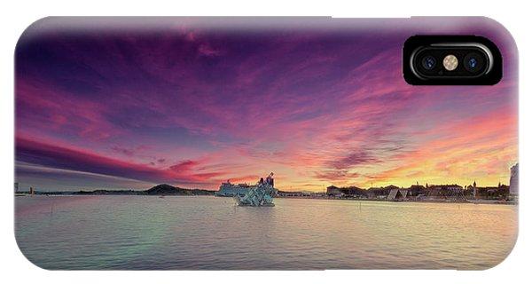 Oslo Harbor IPhone Case